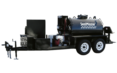 Sealcoat Spray System Trailer, Sealcoat Spray Equipment, Sealcoating Equipment, 750 Gallon SprayMaster Trailer, SealMaster