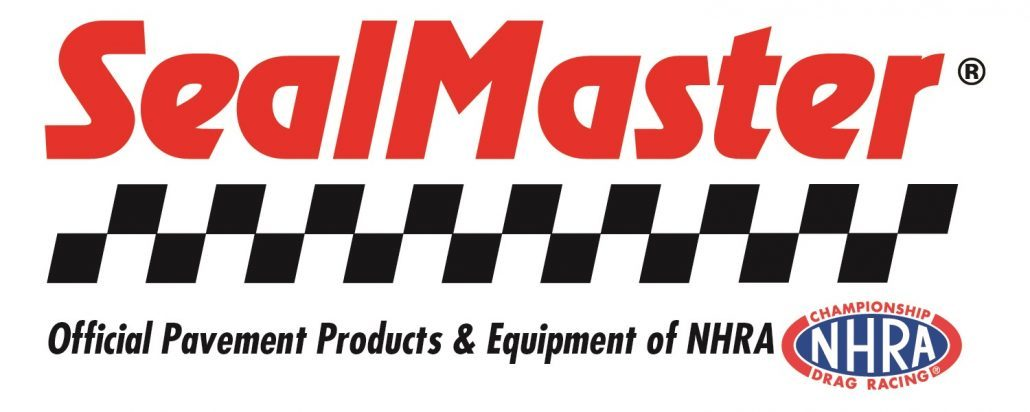 SEALMASTER NAMED OFFICIAL PAVEMENT PRODUCTS AND EQUIPMENT SUPPLIER OF THE NHRA