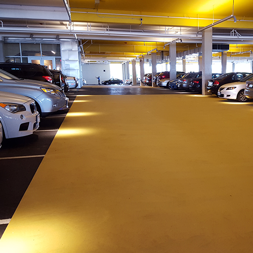 Parking Lot And Driveway Color Coating