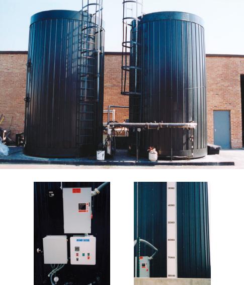 Asphalt Storage Tank. Asphalt tank. Heated asphalt tank.