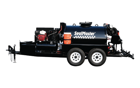 Sealcoat Spray System Trailer, Sealcoat Spray Equipment, Sealcoating Equipment, TR 575 SprayMaster Trailer, SealMaster