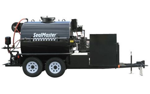 Sealcoat Spray System Trailer, Sealcoat Spray Equipment, Sealcoating Equipment, 1000 Gallon SprayMaster Trailer, SealMaster