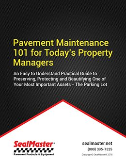 Pavement Maintenance Guide For Property Managers