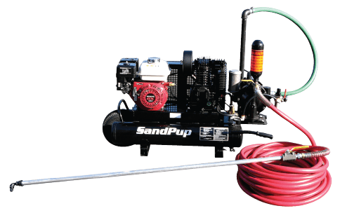 Sealcoat Spray Unit, Portable Sealcoat Spray Equipment, Sealcoating Equipment, SandPup II