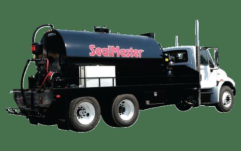 Sealcoat Spray System Tank Truck, Sealcoat Spray Equipment, Sealcoating Equipment, Truck Mounted SprayMaster Tank, SealMaster