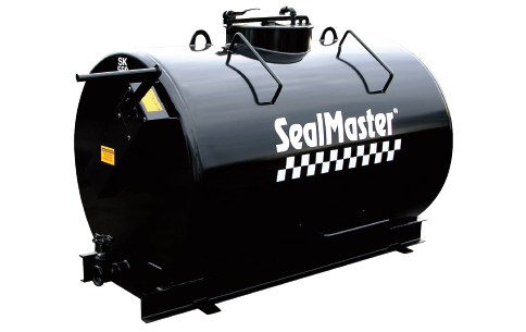 Hand-Agitated Sealcoating MixTank. Hand-Agitated Sealcoating Tank. Sealcoat mix tank-300 gallon capacity.