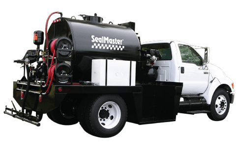 Sealcoat Spray System Tank Unit- 1,000 gallon, Sealcoat Spray Equipment, Sealcoating Equipment, SK 1,000 SprayMaster Tank, SealMaster