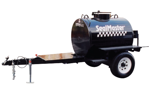 Hand-Agitated Sealcoat Mixing Tank-Trailer Mounted. Hand-Agitated Sealcoat Tank. Tow behind sealcoat mix tank.
