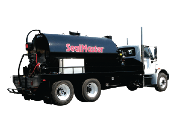 Sealcoat Spray System Tank Truck, Sealcoat Spray Equipment, Sealcoating Equipment, Truck Mounted SprayMaster Tank, SealMaster